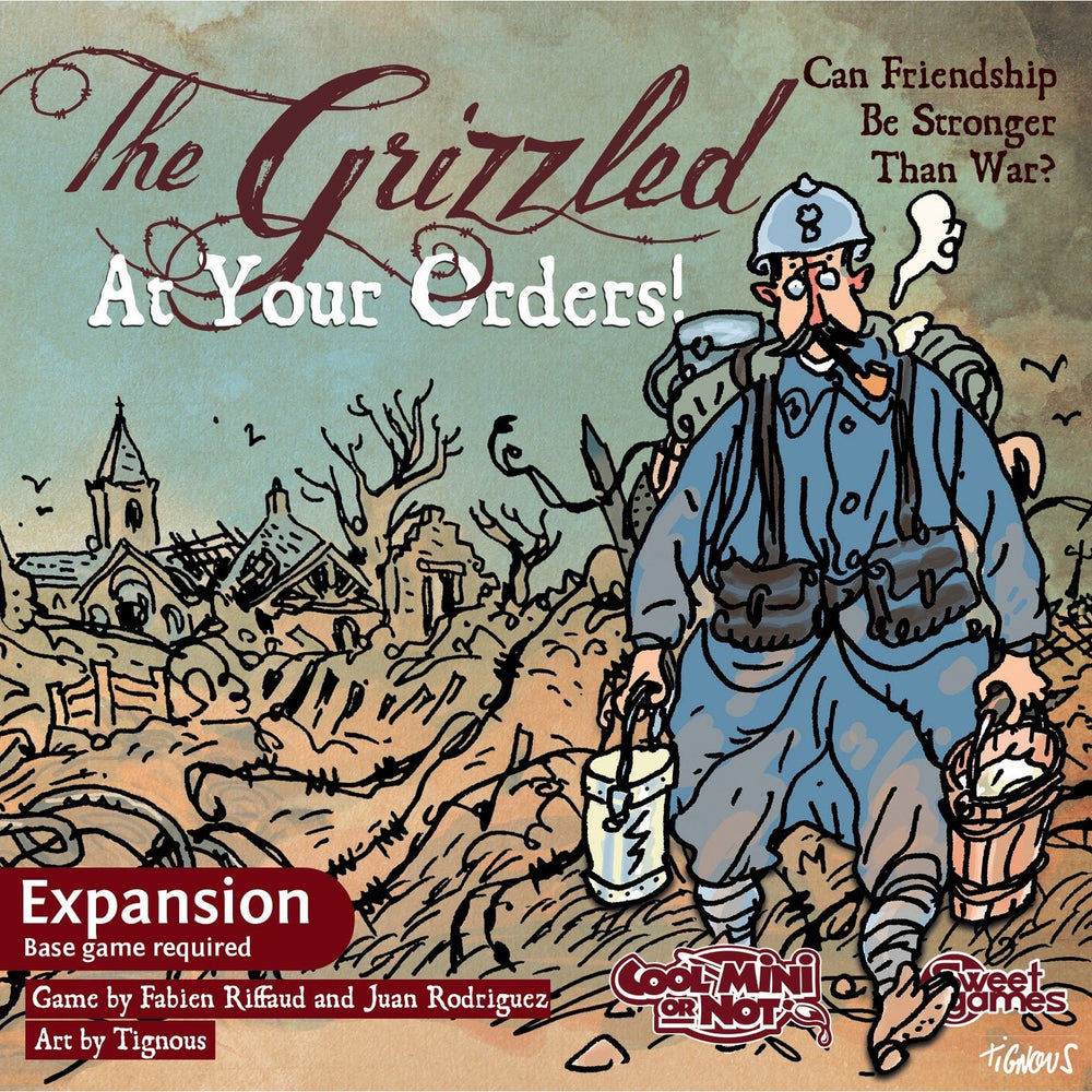 The Grizzled: At Your Orders! - The Dice Owl
