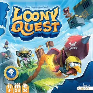 Loony Quest - Board Game - The Dice Owl