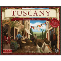 Tuscany Essential Edition - Board Game - The Dice Owl