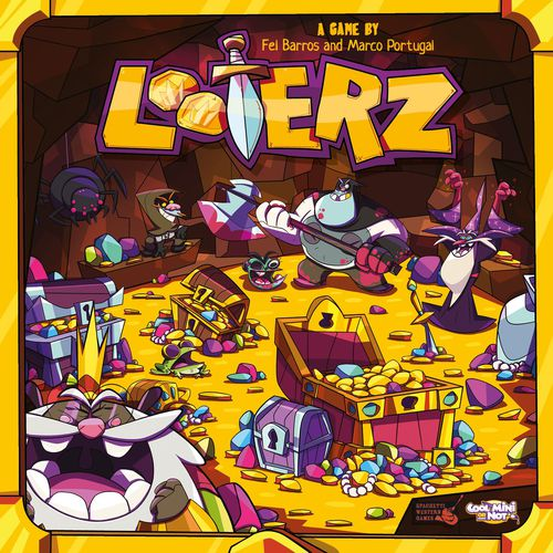Looterz - Board Game Canada - The Dice Owl