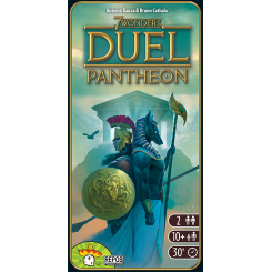 7 Wonders: Duel – Pantheon - Board Game - The Dice Owl