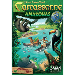 Carcassonne: Amazonas - Board Game - The Dice Owl