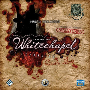 Letters From Whitechapel: Dear Boss - Board Game - The Dice Owl