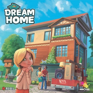 Dream Home - Board Game - The Dice Owl