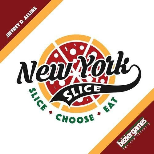 New York Slice - Board Game - The Dice Owl