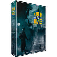 Watson & Holmes: From the Diaries of 221B - Board Game - The Dice Owl