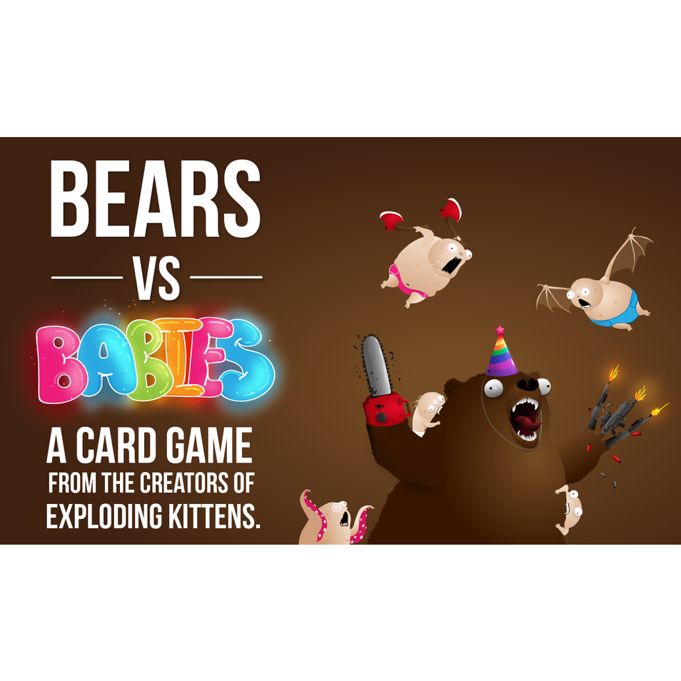 Bears vs Babies - Board Game - The Dice Owl