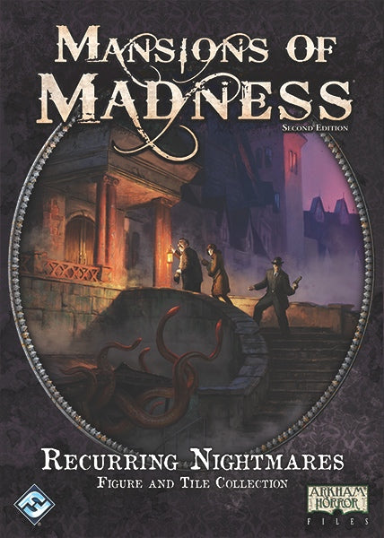 Mansions of Madness: Second Edition – Recurring Nightmares: Figure and Tile Collection - The Dice Owl