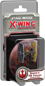 Star Wars: X-Wing Miniatures Game – Sabine's TIE Fighter Expansion Pack - The Dice Owl