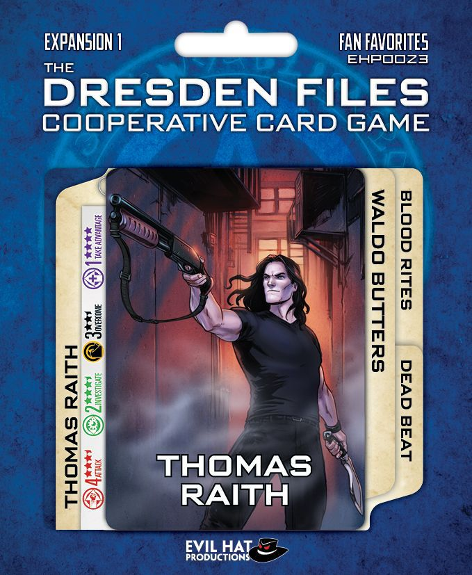 The Dresden Files Cooperative Card Game: Fan Favorites - The Dice Owl