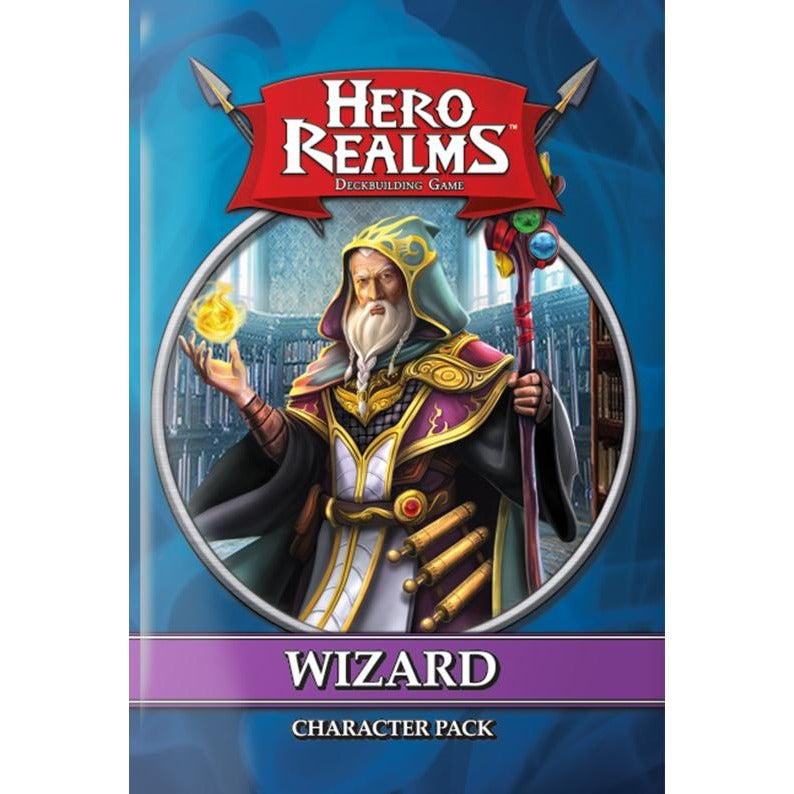 Hero Realms: Character Pack – Wizard - The Dice Owl