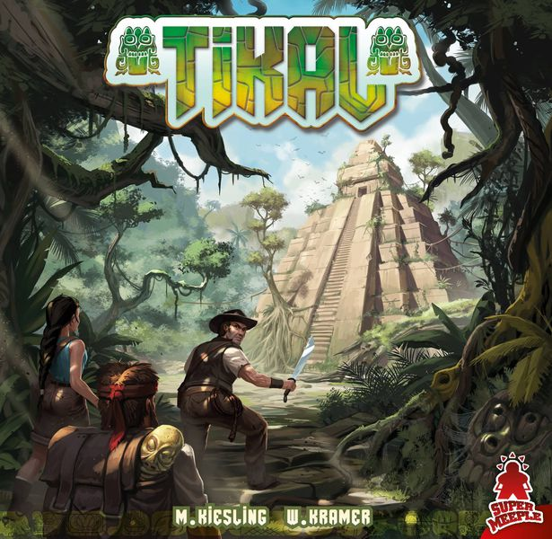 Tikal 2016 board game the dice owl
