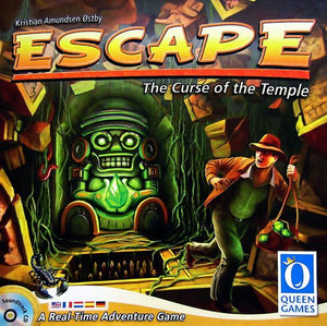Escape Curse of the Temple - board game - the dice owl