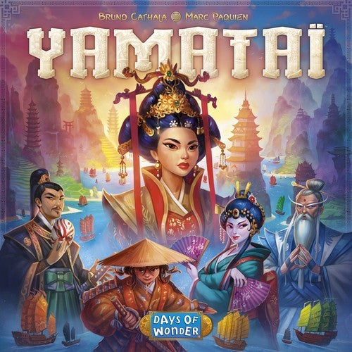 Yamataï - Board Game - The Dice Owl