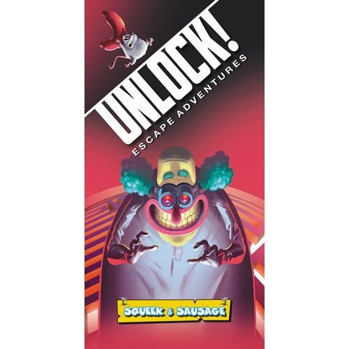 Unlock! Squeek & Sausage - Board Game - The Dice Owl