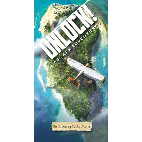 Unlock! The Island of Doctor Goorse - Board Game - The Dice Owl