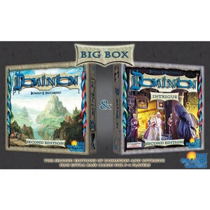 Dominion: Big Box (includes Intrigue) 2nd Edition - Board Game - The Dice Owl