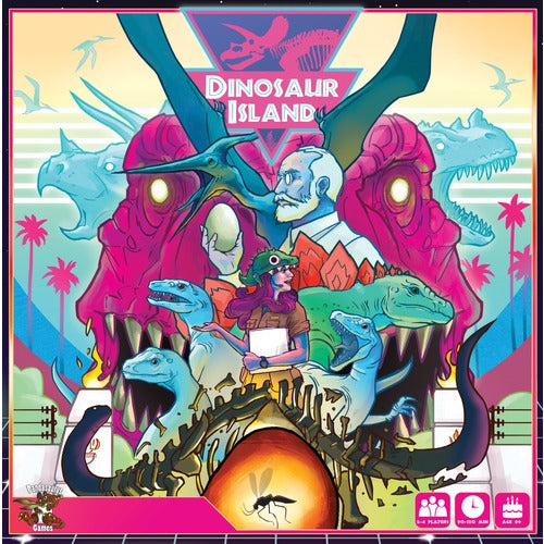 Dinosaur Island - The Dice Owl