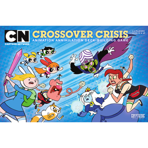 Cartoon Network Crossover Crisis: Animation Annihilation Deck-Building Game - Board Game - The Dice Owl