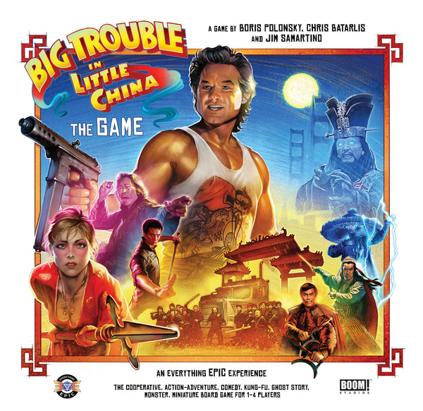 Big Trouble in Little China: The Game - Board Game - The Dice Owl