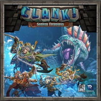 Clank! Sunken treasures *Box with minor damages* - Board Game - The Dice Owl