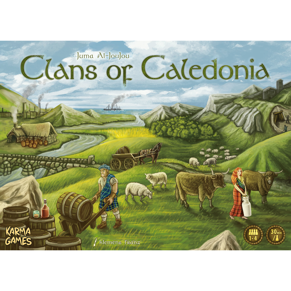 Clans of Caledonia - The Dice Owl