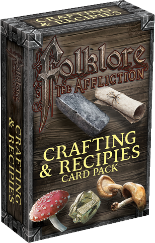 Folklore: The Affliction – Crafting & Recipes Card Pack - The Dice Owl
