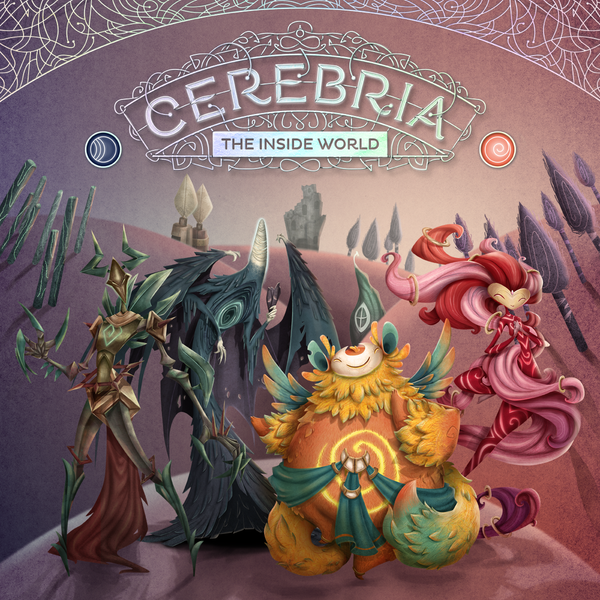 Cerebria: The Inside World - Board Game - The Dice Owl