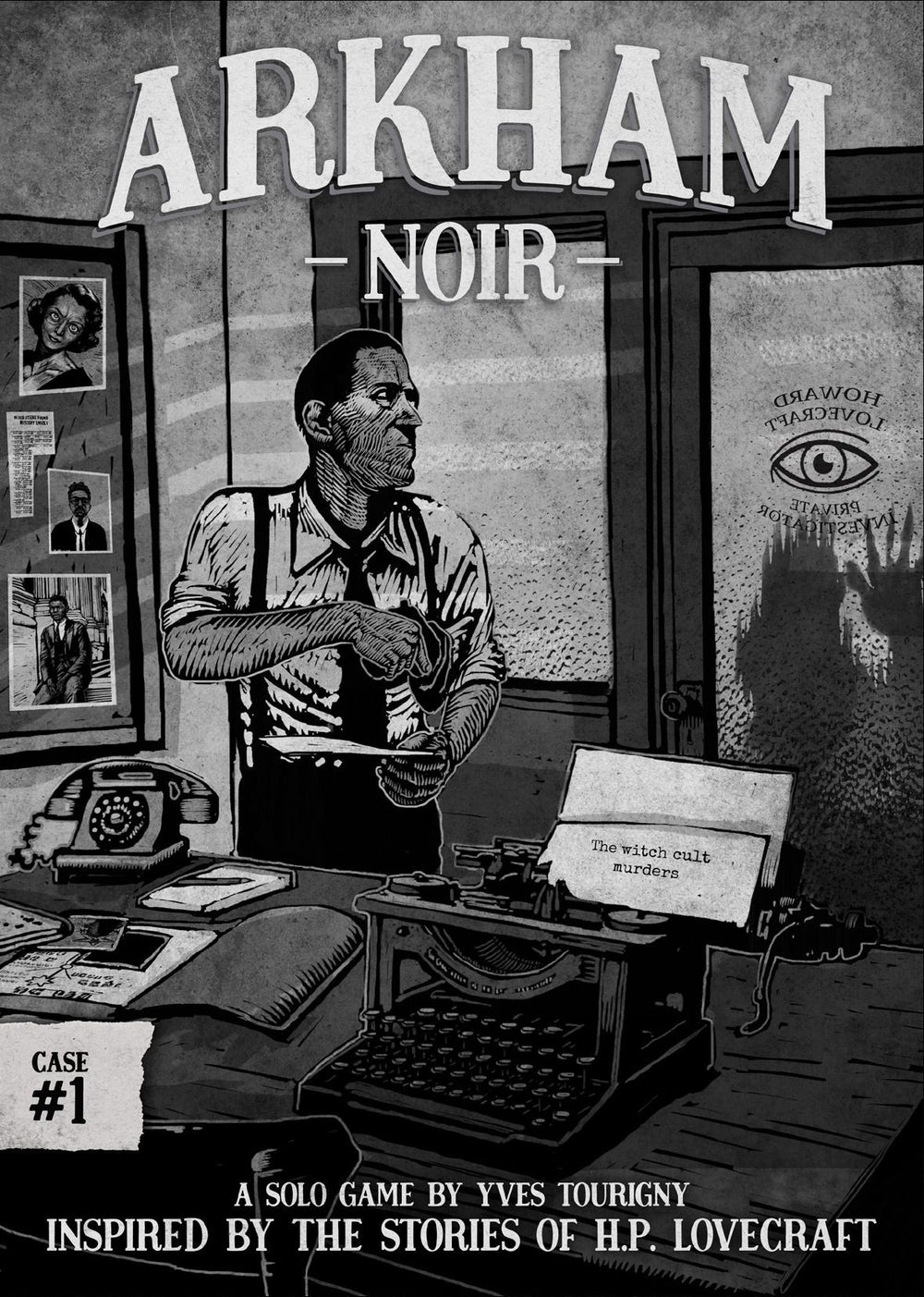Arkham Noir: Case #1 – The Witch Cult Murders (FR) - Board Game - The Dice Owl