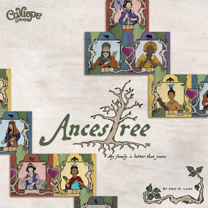 Ancestree - Board Game - The Dice Owl