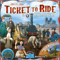 Ticket to Ride Map Collection: Volume 6 – France & Old West - The Dice Owl