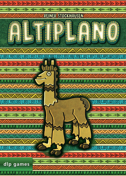 Altiplano (FR) - Board Game - The Dice Owl