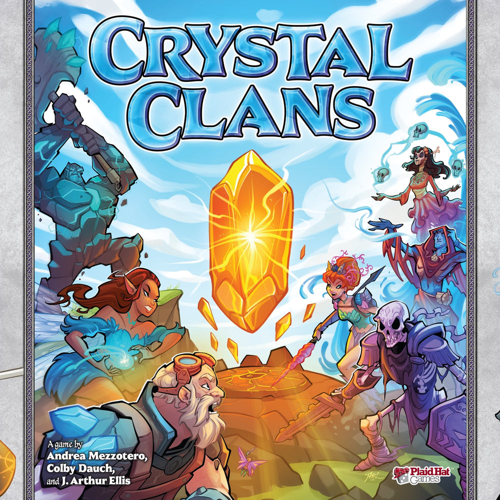 Crystal Clans - Board Game - The Dice Owl