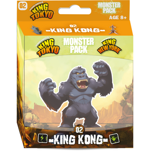 King of Tokyo/New York: Monster Pack – King Kong - The Dice Owl