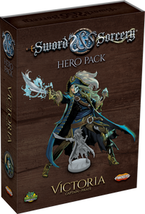 Sword & Sorcery: Hero Pack – Victoria the Captain/Pirate - The Dice Owl