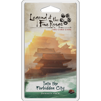 Legend of the Five Rings: The Card Game – Into the Forbidden City - The Dice Owl