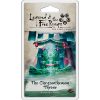 Legend of the Five Rings: The Card Game – The Crysanthemum Throne - The Dice Owl