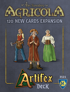 Agricola: Artifex Deck - Board Game - The Dice Owl