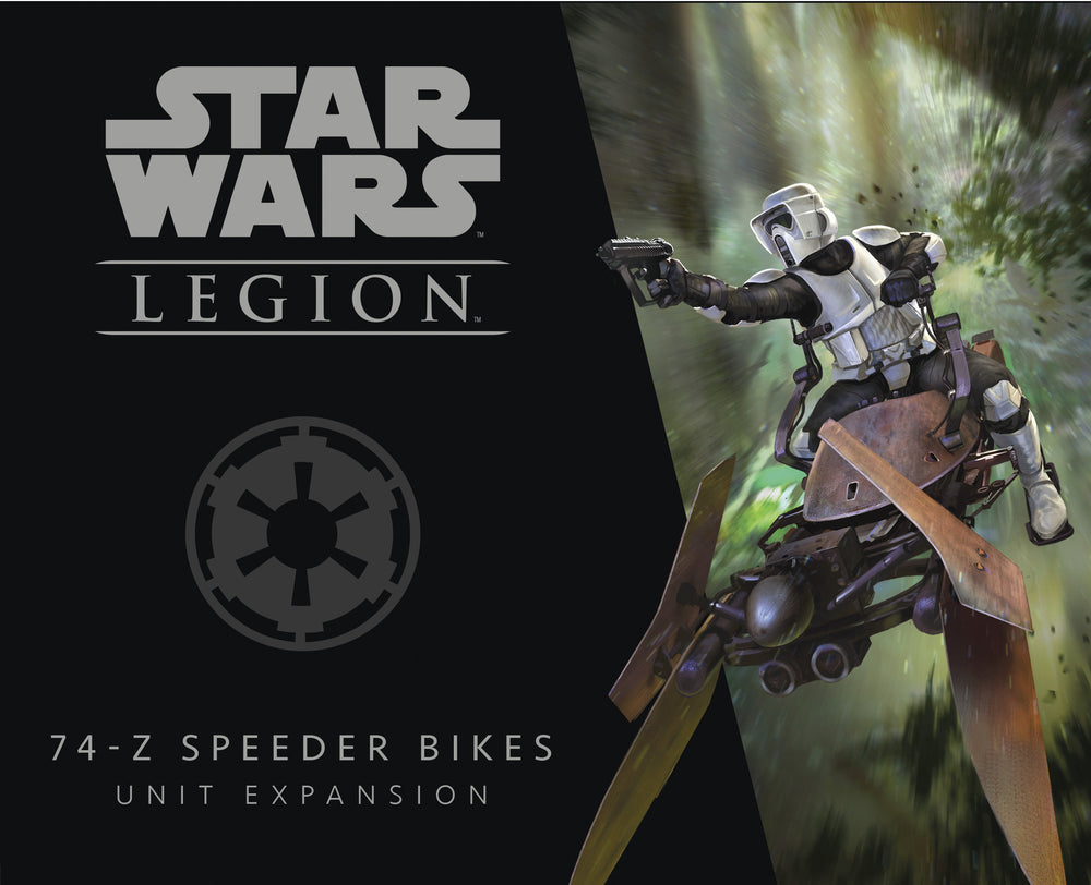 Star Wars: Legion – 74-Z Speeder Bikes Unit Expansion - The Dice Owl