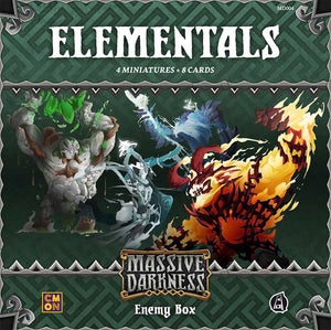 Massive Darkness: Enemy Box – Elementals - The Dice Owl