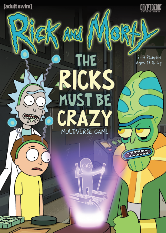 Rick and Morty: The Ricks Must Be Crazy Multiverse Game - The Dice Owl