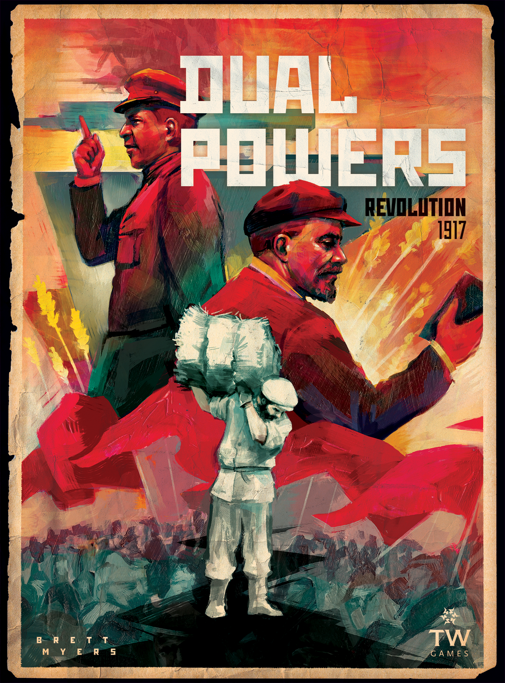 Dual Powers: Revolution 1917 - The Dice Owl