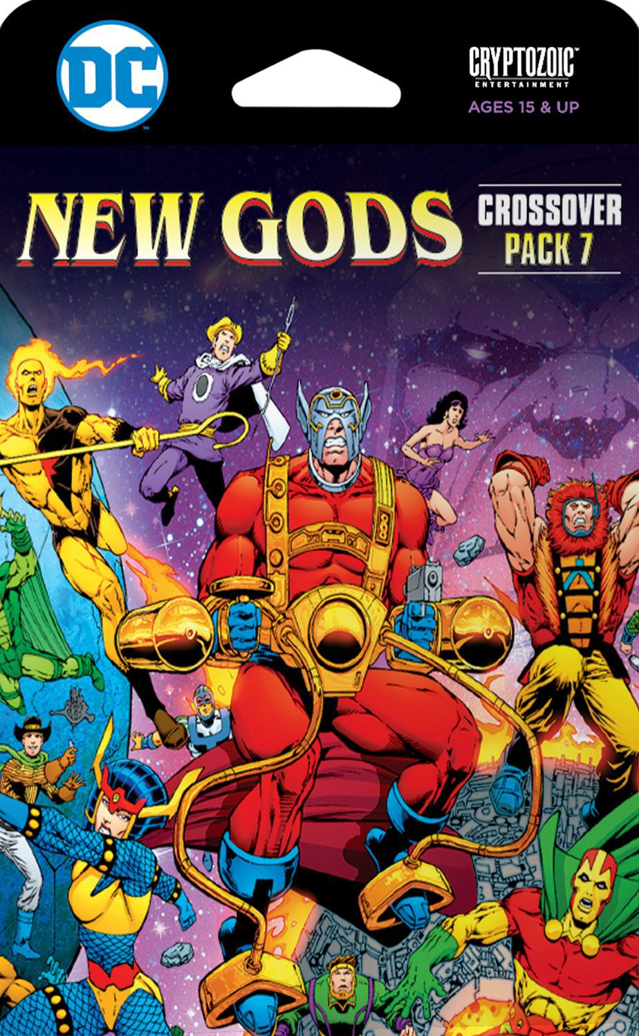 DC Comics Deck-Building Game: Crossover Pack 7 – New Gods - Board Game - The Dice Owl