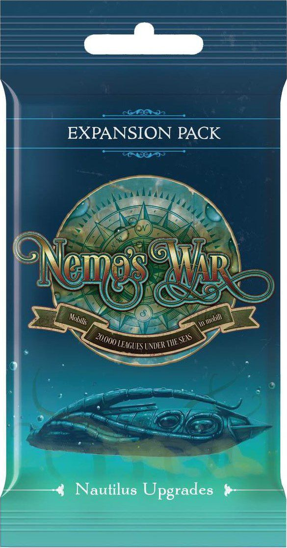 Nemo's War (second edition): Nautilus Upgrades Expansion Pack - The Dice Owl