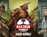 Maximum Apocalypse: Kaiju Rising - The Dice Owl