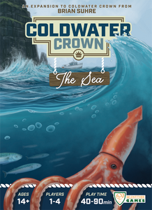 Coldwater Crown: The Sea - Board Game - The Dice Owl