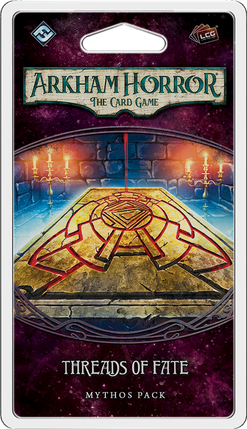 Arkham Horror: The Card Game – Threads of Fate Mythos Pack - Board Game - The Dice Owl