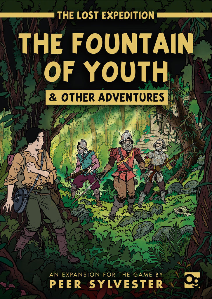 The Lost Expedition: The Fountain of Youth & Other Adventures - The Dice Owl