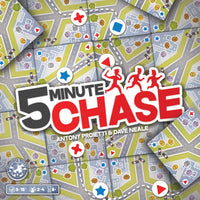 5 Minute Chase - Board Game - The Dice Owl
