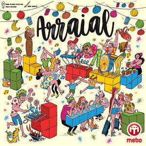 Arraial - Board Game - The Dice Owl